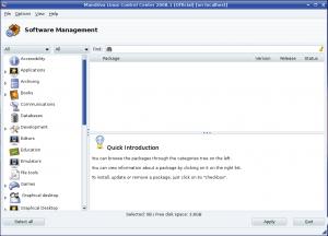 Mandriva Software Installation