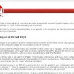 Circuit City's Web Site